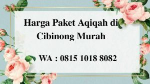 Harga Paket Aqiqah di Cibinong