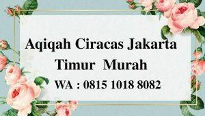 Aqiqah Ciracas Jakarta Timur Murah