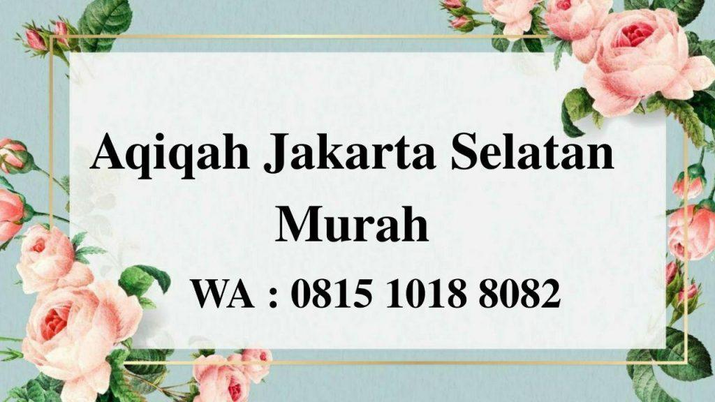 Aqiqah Jakarta Selatan