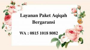 Harga Paket Aqiqah di Jakarta Murah