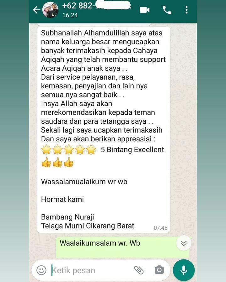 Kambing Aqiqah di Cakung Jakarta Timur