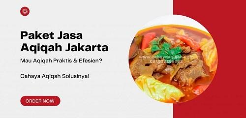 Paket Aqiqah Jakarta Terbaik